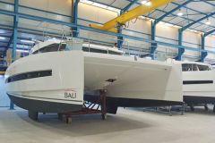 Catamaranes de Bali en producción en la filial tunecina Haco del grupo Catana