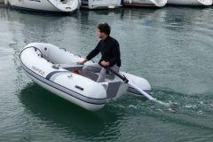 El innovador motor eléctrico del bote Temo