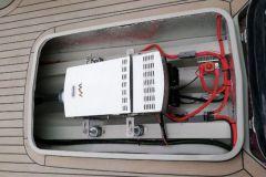 Motor eléctrico Waterworld a bordo de un barco