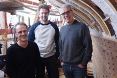 Louis Mauffret, Tegwen Mauffret y Yann Mauffret