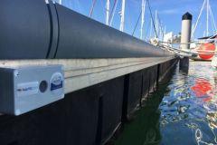El sensor Nauticspot para la supervisión de los puertos deportivos