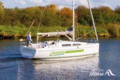 Un velero eléctrico desarrollado por Hanse Yachts