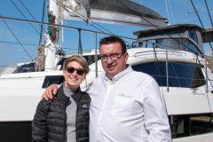 Anna Nowotarska, nueva directora de ventas de exportación con Gilles Wagner, CEO de Privilège Marine