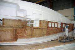 La producción de veleros en una fábrica de Bénéteau