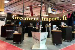 Stand de aparejo de importación en el Nautic 2020