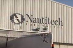 Entrada al astillero Nautitech