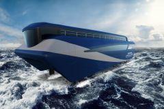 Imagen del proyecto de transbordador de láminas de Artemis Technologies