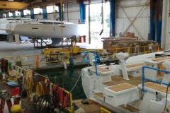 Los veleros de Jeanneau construidos en la fábrica americana de Marion