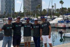 Nautal y el equipo de gestión de Click&Boat juntos