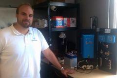 Romain Portail, fundador de My Smartboat