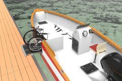 Estran 650 PMR, un barco diseñado para el acceso de sillas de ruedas