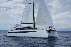 La clase oceánica 50 de los catamaranes HH