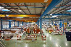 La fábrica de veleros del Grupo Bénéteau
