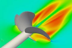 Cálculo del CFD de la hélice de un barco