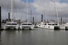 El puerto de La Rochelle recibe regularmente barcos listos para ser entregados por los astilleros neo-acuáticos