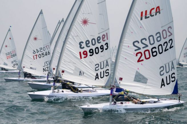 Marçon Yachting distribuye el bote olímpico ILCA